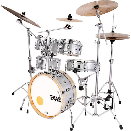 Taye Drums GoKit 5-Piece Shell Pack Silver Sparkle