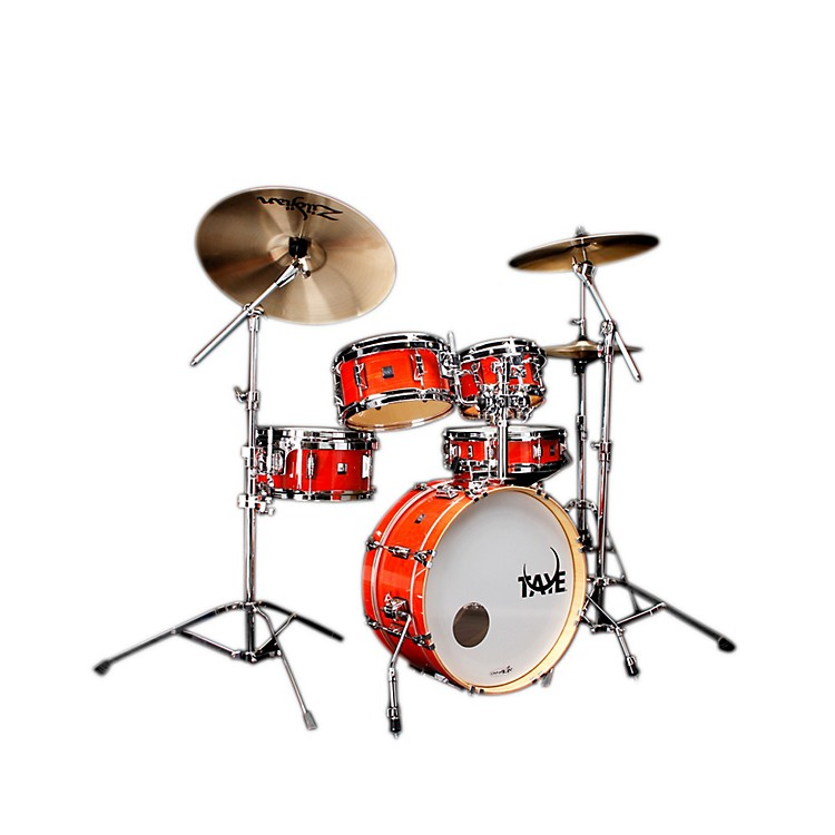 Taye DrumsGoKit Birch / Basswood 5 Piece Shell PackDaytona Sunset Lacquer