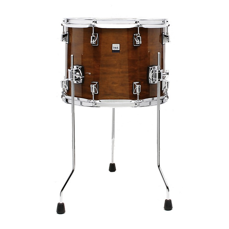 Taye Drums GoKit Birch / Basswood Floor Tom Antique Honey Lacquer 14x11