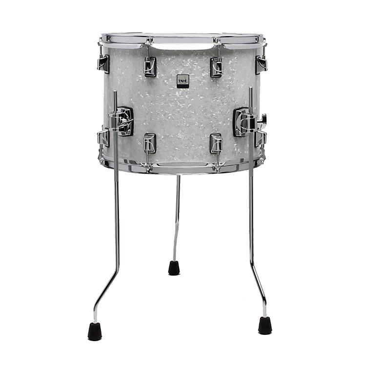 Taye drums gokit birch basswood floor tom white pearl for 14 inch floor tom