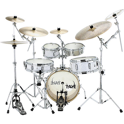 Taye Drums GoKit Shell Pack White Pearl