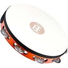 Meinl Goat-Skin Wood Tambourine One Row Aluminum Jingles