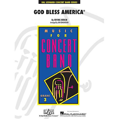 Hal Leonard God Bless America - Young Concert Band Level 3arranged by John Edmondson-thumbnail
