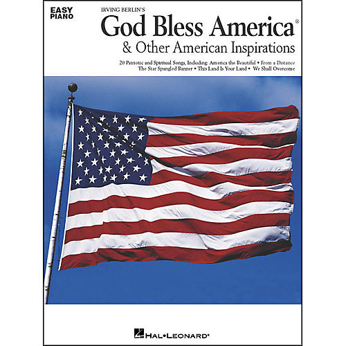 Hal Leonard God Bless America & Other American Inspirations For Easy Piano-thumbnail