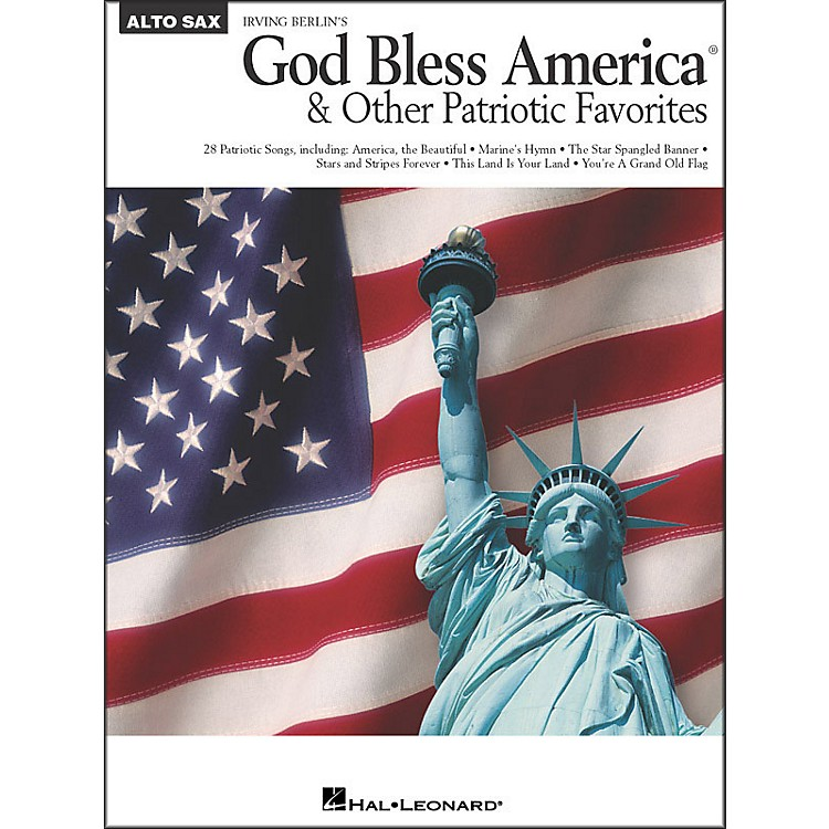 Hal Leonard God Bless America & Other Patriotic Favorites - Alto Sax