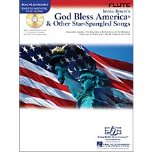 Hal Leonard God Bless America & Other Star-Spangled Songs for Flute instrumental Play-Along Book/CD