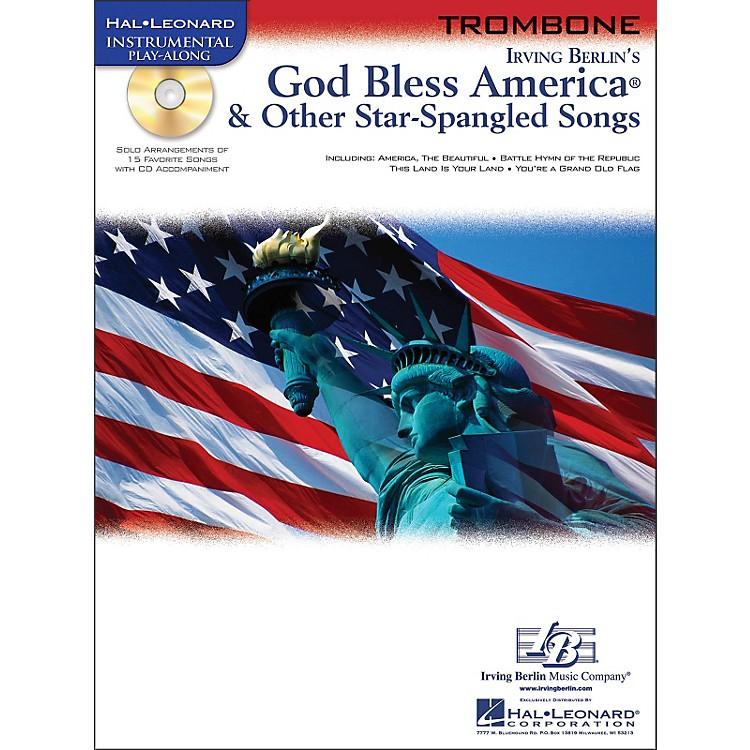 Hal LeonardGod Bless America & Other Star Spangled Songs for Trombone instrumental Play-Along Book/CD