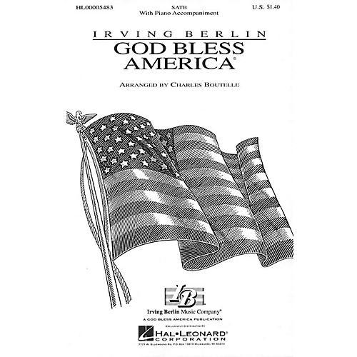 Hal Leonard God Bless America® (SATB) SATB arranged by Charles Boutelle-thumbnail