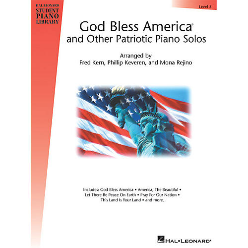 Hal Leonard God Bless America® and Other Patriotic Piano Solos - Level 5 Piano Library Series-thumbnail