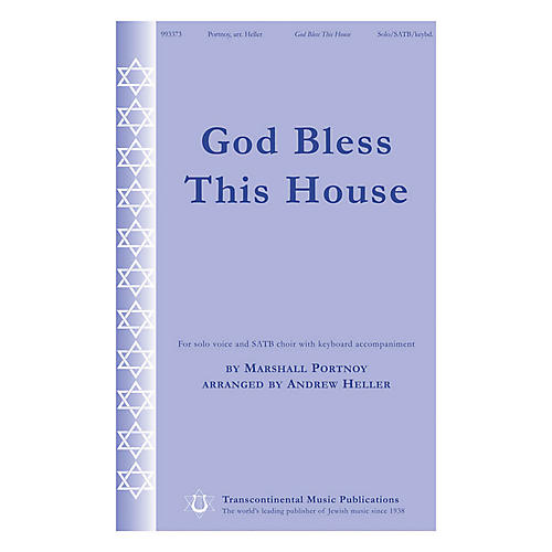 Transcontinental Music God Bless This House SATB Chorus and Solo arranged by Andrew Heller-thumbnail
