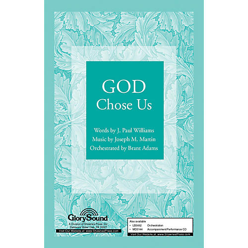 Shawnee Press God Chose Us SATB arranged by Brant Adams-thumbnail