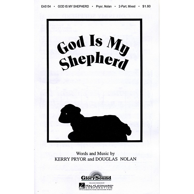Hal Leonard God Is My Shepherd 2-Part Mixed