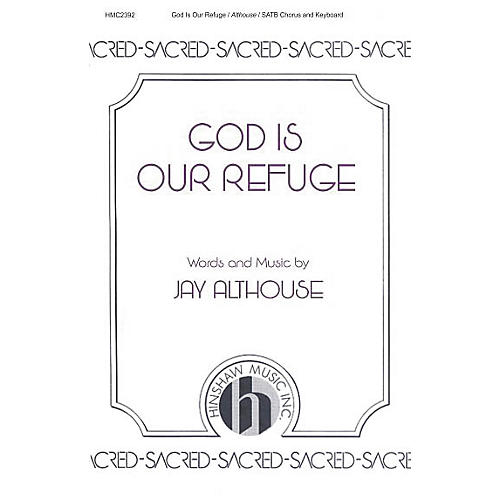 Hinshaw Music God Is Our Refuge SATB-thumbnail
