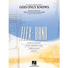Hal Leonard God Only Knows Concert Band Level 2-3 by Beach Boys Arranged by Michael Brown