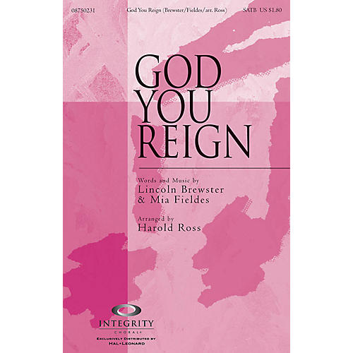 Integrity Choral God You Reign CD ACCOMP by Lincoln Brewster Arranged by Harold Ross-thumbnail