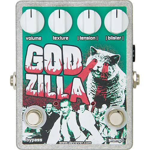 Devi Ever God Zilla Fuzz Guitar Effects Pedal-thumbnail
