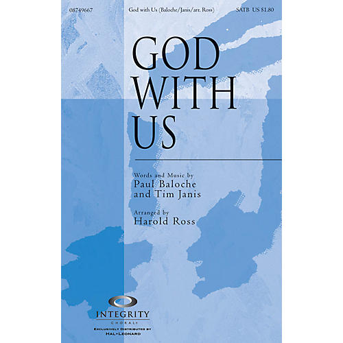 Integrity Choral God with Us CD ACCOMP Arranged by Harold Ross-thumbnail