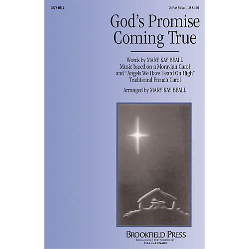 Hal Leonard God's Promise Coming True 2-Part composed by Mary Kay Beall