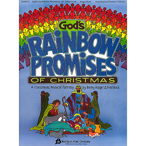 Fred Bock Music God's Rainbow Promises of Christmas composed by Fred Bock-thumbnail