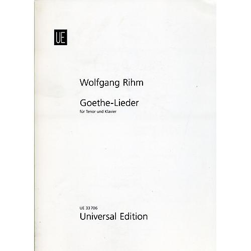 Theodore Presser Goethe-Lieder