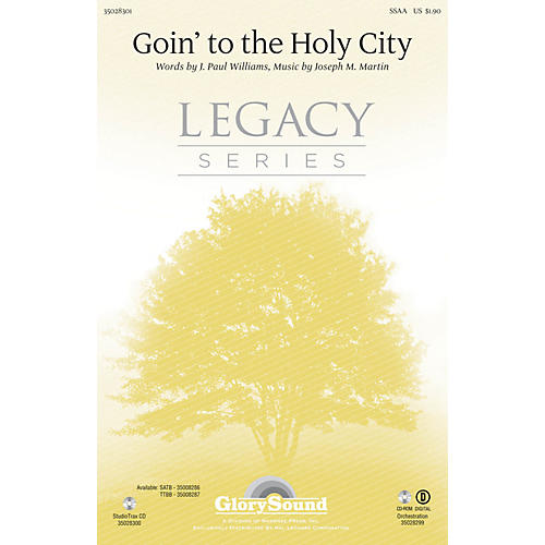 Shawnee Press Goin' to the Holy City SSAA composed by Joseph M. Martin-thumbnail