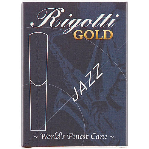 Rigotti Gold Alto Saxophone Reeds Strength 2.5 Medium