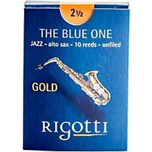 Rigotti Gold Alto Saxophone Reeds Strength 3 Strong