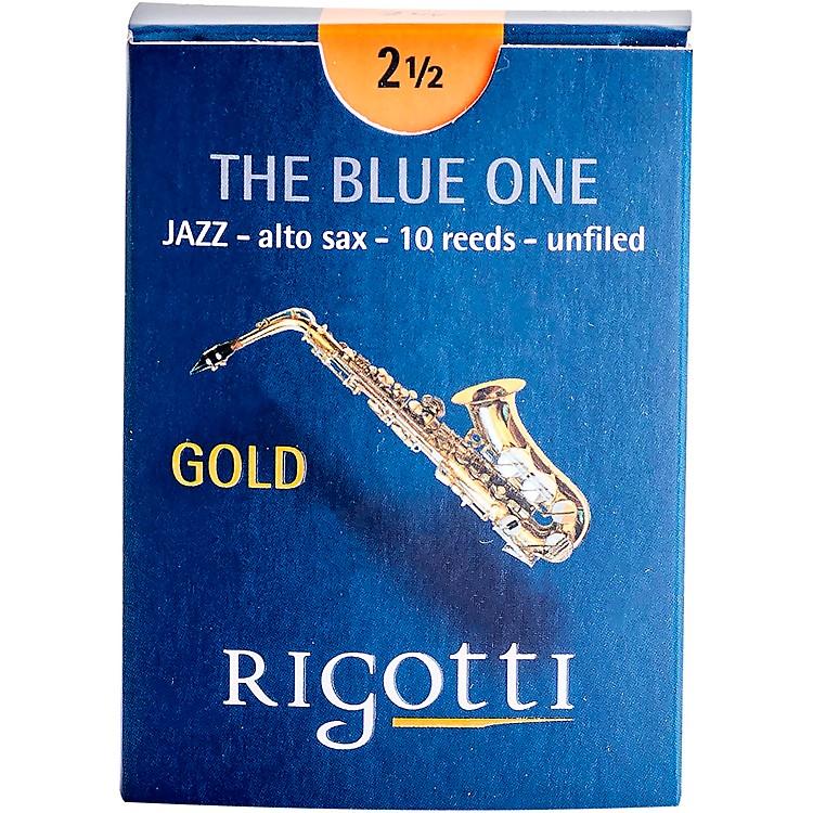 RigottiGold Alto Saxophone ReedsStrength 2.5 Medium