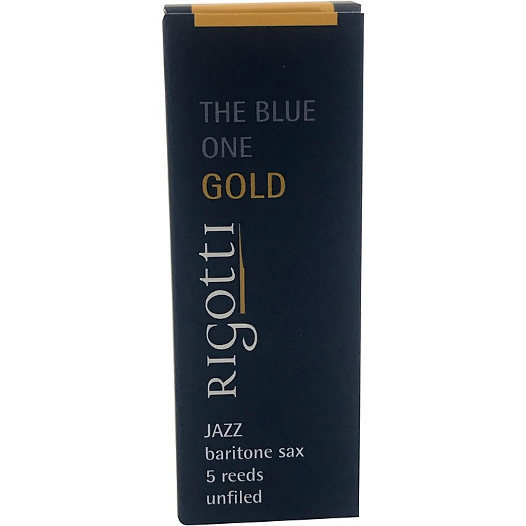 Rigotti Gold Baritone Saxophone Reeds Strength 2.5 Medium