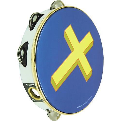 Remo Gold Cross Tambourine