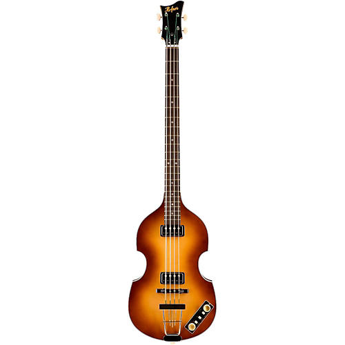 Hofner Gold Label Limited Edition Violin Bass with Birsdeye Maple