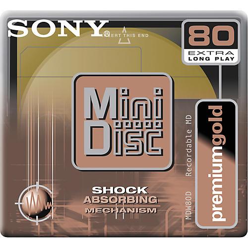 Sony Gold MiniDisc 80-Minute Single Disc-thumbnail