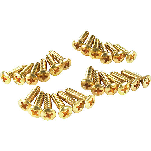 Fender Gold Pickguard Screws
