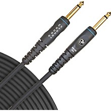 "D'Addario Planet Waves Gold-Plated 1/4"" Straight Instrument Cable 15 ft."