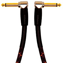 "Roland Gold Series 1/4"" Angled/Angled Instrument Cable"
