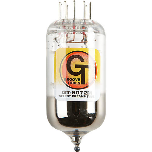 Groove Tubes Gold Series GT-6072-M Preamp Tube-thumbnail