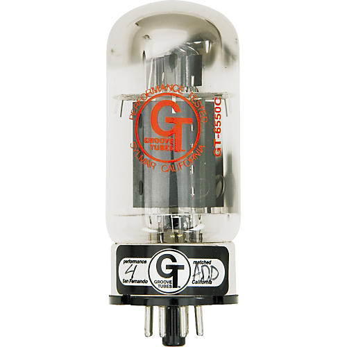 Groove Tubes Gold Series GT-6550-C Matched Power Tubes