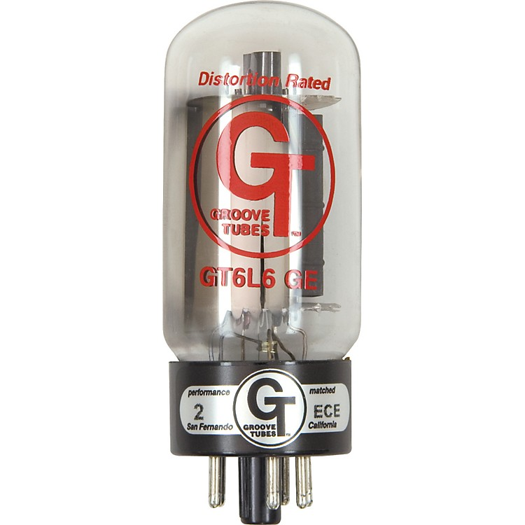 Groove Tubes Gold Series GT-6L6-GE Matched Power Tubes Low (1-3 GT Rating) Quartet