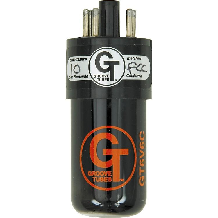 Groove TubesGold Series GT-6V6-C Matched Power TubesMedium (4-7 GT Rating)Quartet
