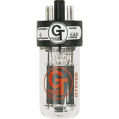 Groove Tubes Gold Series GT-6V6-R Matched Power Tubes Medium (4-7 GT Rating) Duet