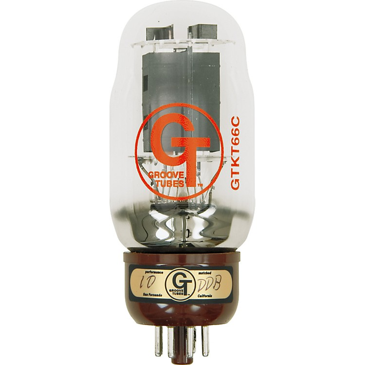 Groove Tubes Gold Series GT-KT66-C Matched Power Tubes High (8-10 GT Rating) Duet