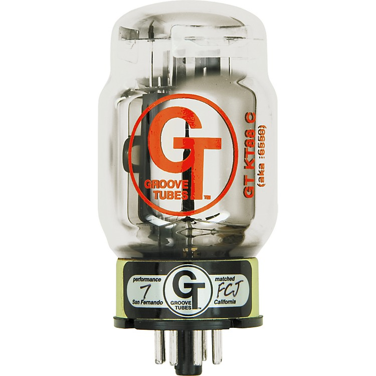 Groove Tubes Gold Series GT-KT88-C2 Matched Power Tubes Low (1-3 GT Rating) Duet