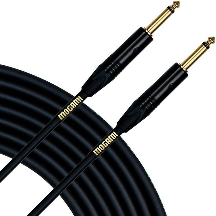 Mogami Gold Series Instrument Cable 10 Feet