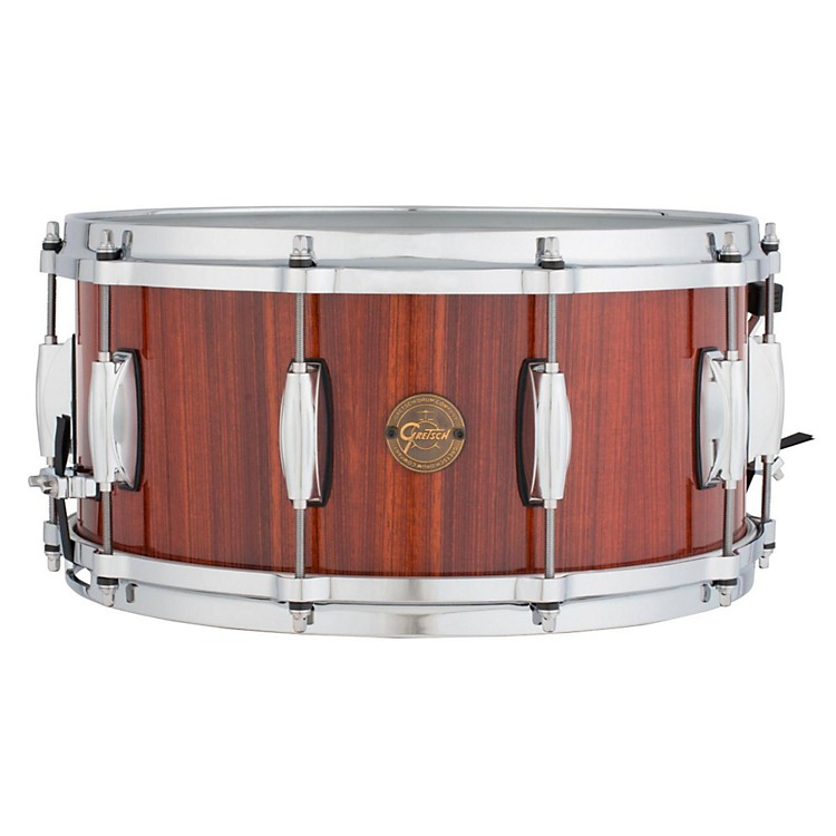 Gretsch DrumsGold Series Rosewood Snare Drum14X6.5Natural