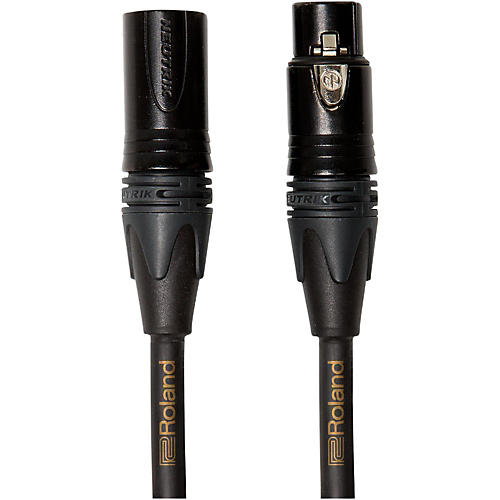 Roland Gold Series XLR Microphone Cable-thumbnail