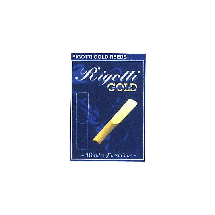 Rigotti Gold Soprano Saxophone Reeds Strength 2.5 Medium