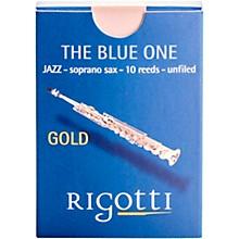 Rigotti Gold Soprano Saxophone Reeds Strength 3 Strong