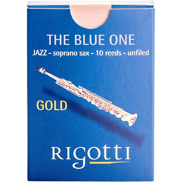 RigottiGold Soprano Saxophone ReedsStrength 2.5 Medium