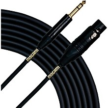 "Mogami Gold Studio 1/4"" TRS-Female XLR Cable 10 ft."