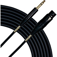 "Mogami Gold Studio 1/4"" TRS-Female XLR Cable 15 ft."